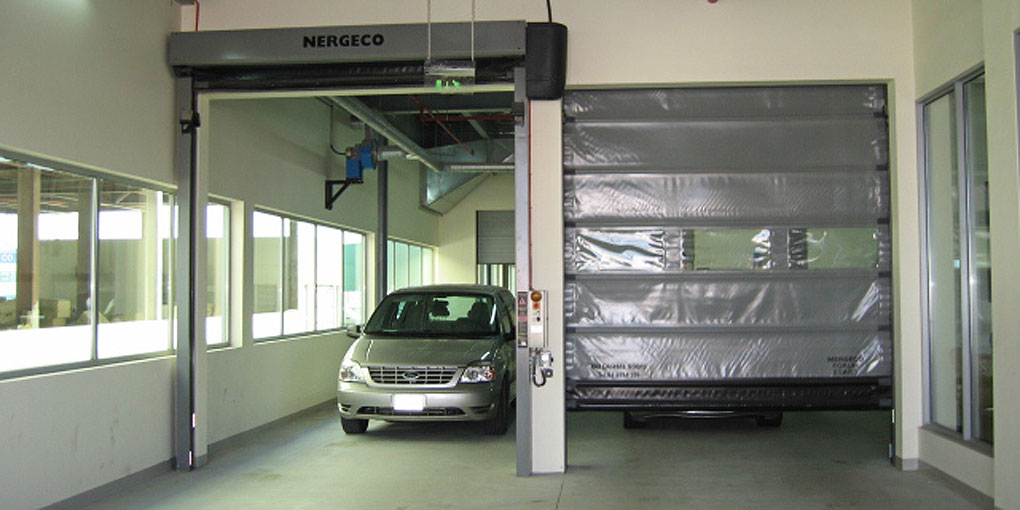 High-speed doors customized for each interior logistics