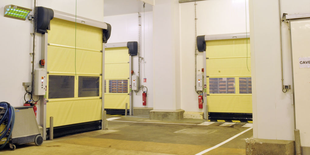 Fast acting doors more resistent to corrosion than stainless steel
